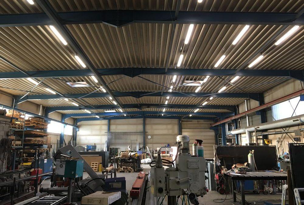 Projet lampe led d'un atelier
